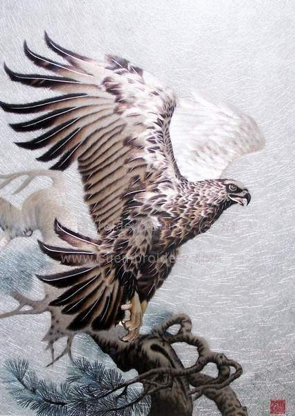 suzhou embroidery Eagle