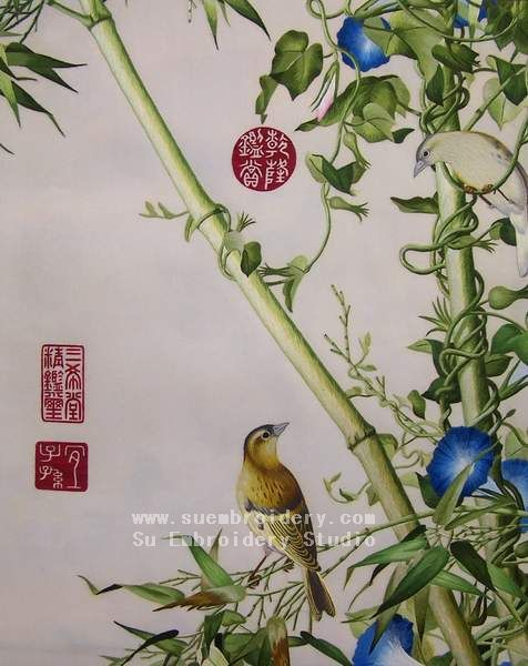 chinese stitching art
