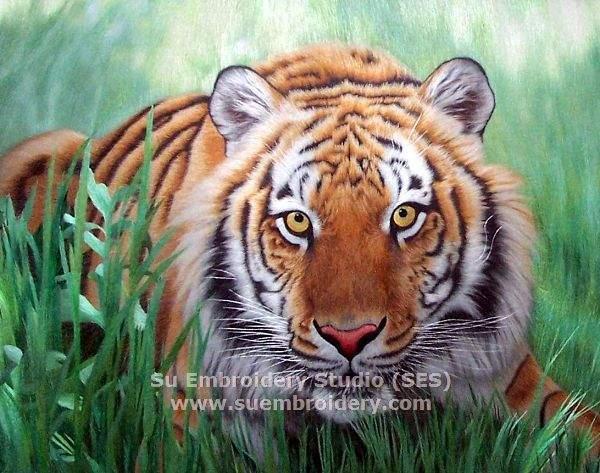suzhou embroidery tiger