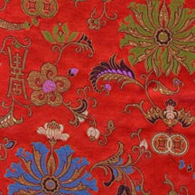 Chinese Silk Cloud Brocade