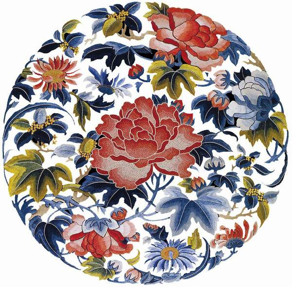 The development of chinese embroidery