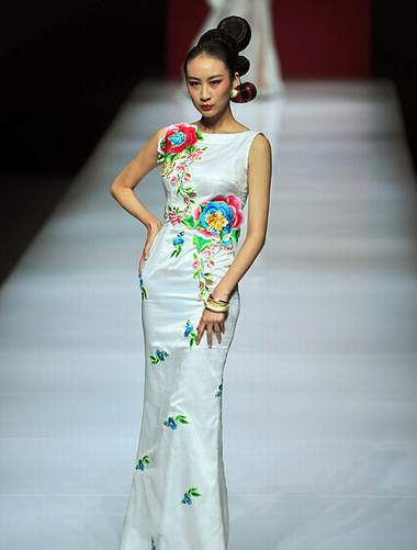 chinese embroidery fashion