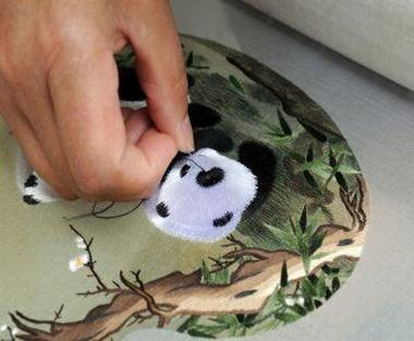 shu embroidery panda