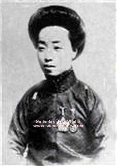 chinese embrolidery master shen shou