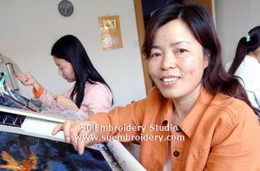 embroidery artist Liang Xuefang