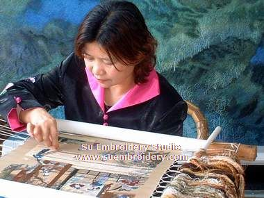 lu fuying embroidery artist