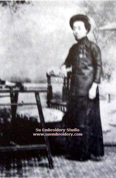 embroidery master shen shou portrait
