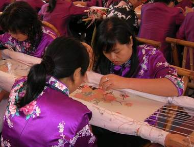 suzhou silk embroidery