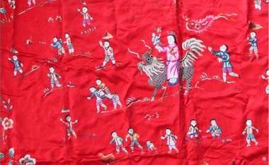 suzhou embroidery quilt cover