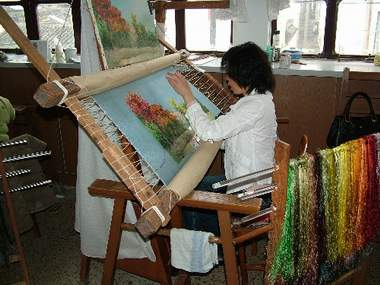 silk embroidery value