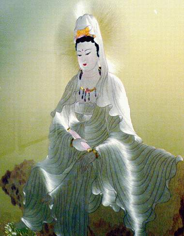 yao hongying's embroidery buddha