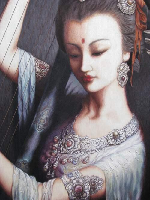 zou yingzi embroidery art