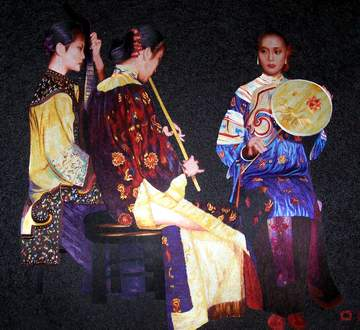 Lingering Melodies from the XunYang River
