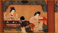 Chinese silk embroidery, needlework